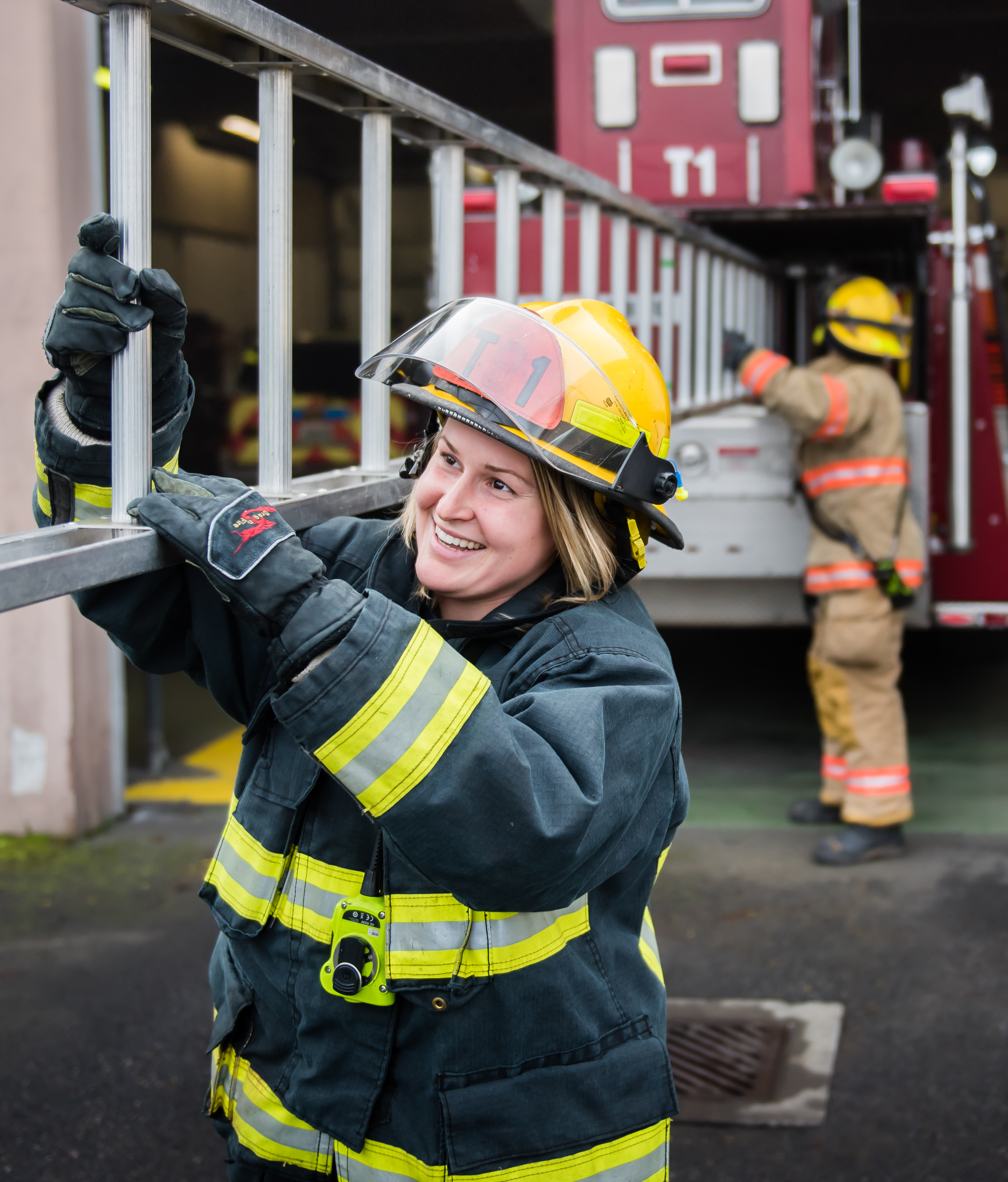 how to become a vancouver firefighter city of vancouver washington a female firefighter at a training exercise her crew