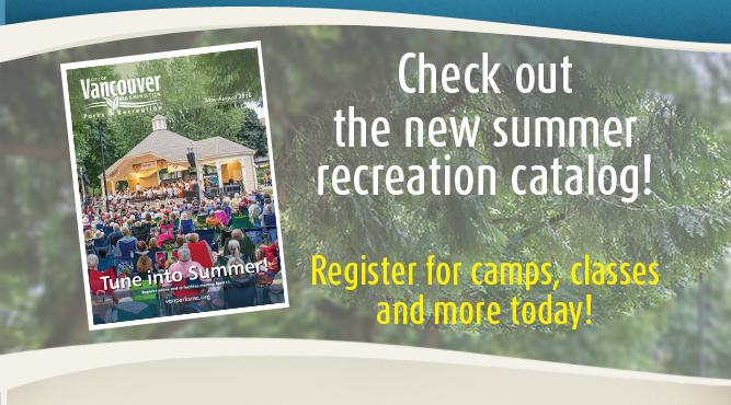 The summer recreation catalog is out now! Register for camps, classes and more today!