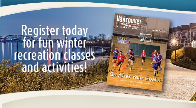 Register today for fun winter recreation classes and activities!