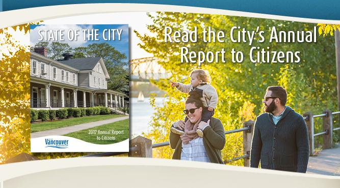 Check out this year's Annual Report to Citizens online.