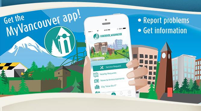 Report problems and get information using MyVancouver, the City's new app for smartphones and tablets.