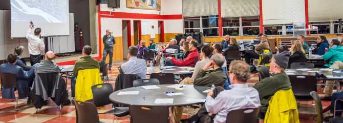 Complete Streets Community Workshop, February 15, 2017 at McLoughlin Middle School