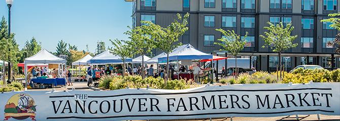 The Farmers Market at the Columbia Tech Center Park