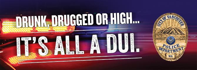 Police DUI Campaign Banner
