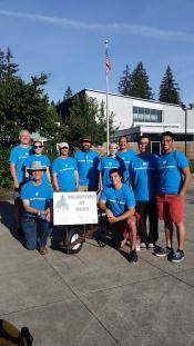 Hewlett Packard Volunteers at FCC