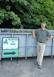 Blandford Canyon Ivy pull team leader