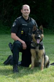 Ofc. R Starbuck and K9 Ory