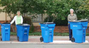 Sizes of recycling carts available upon request