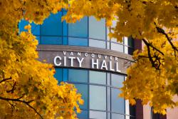City Hall in the fall
