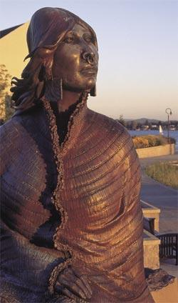 "The ""Ilchee"" Statue"