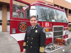 Vancouver Fire Chief Joe Molina