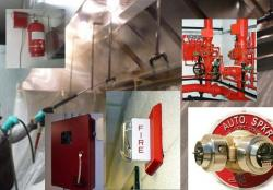 Fire protection systems and kitchen exhaust cleaning