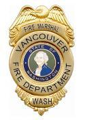 Vancouver Fire Marshal's badge