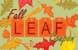 Fall Leaf Coupon Image