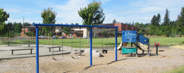 Playground at Endeavour Park in East Vancouver, Washington