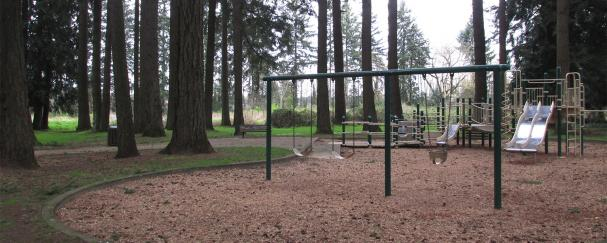 Playground at Forest Ridge Park in Vancouver, Washington