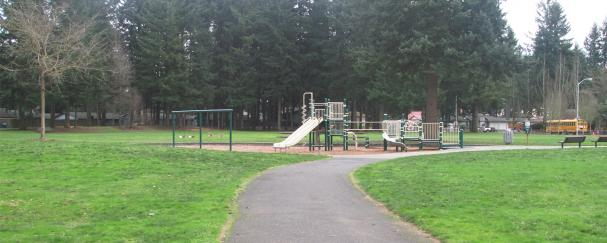 Hearthwood Park in east Vancouver, Washington