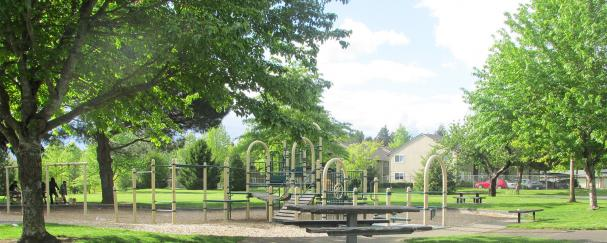 Playground at Jaggy Road Park in Vancouver, Washington
