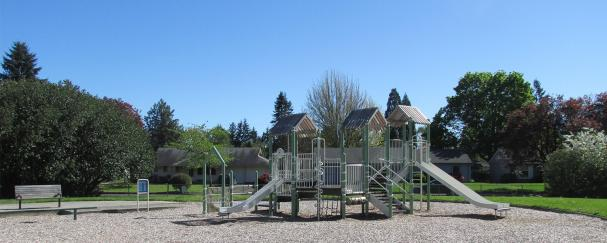 Playground at Lieser Crest Park in Vancouver, Washington
