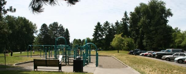 Marine Park Playground in Vancouver, Washington