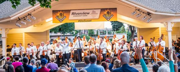 6 to Sunset Concert in Esther Short Park sponsored by Riverview