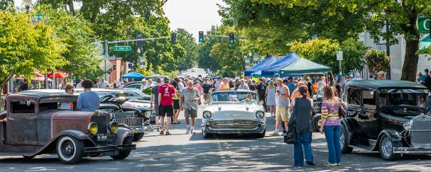 Main Street Car Show in Vancouver, Washington