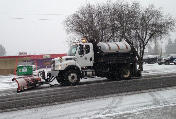 Public Works responds to severe weather impacting streets and other rights of way