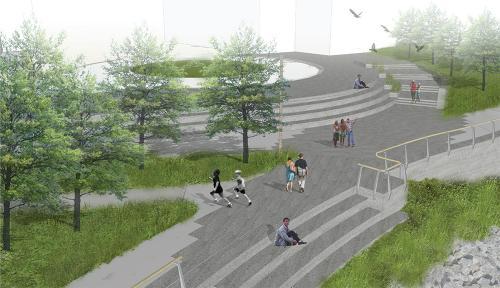 waterfront park future city of vancouver washington