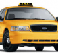 Common yellow taxicab