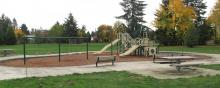 Playground at John & Margrette Coop Park in Vancouver, Washington