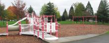 Playground at Ellsworth School Park in Vancouver, Washington
