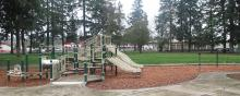 Playground at Evergreen Park on Fourth Plain Boulevard in Vancouver, Washington