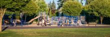 Fisher Basin Community Park Playground in Vancouver, Washington