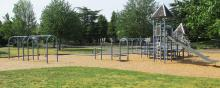 Playground at Quarnberg Park in central Vancouver, Washington