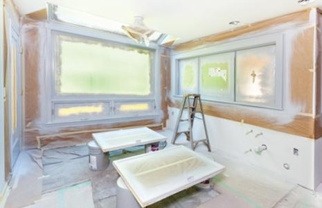 Image of a kitchen remodel.