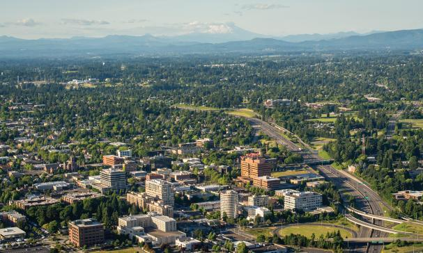 Image result for Aerial view, city of vancouver, WA