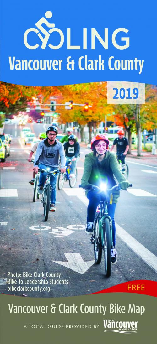 Updated Vancouver, Clark County bicycle map now available   City of