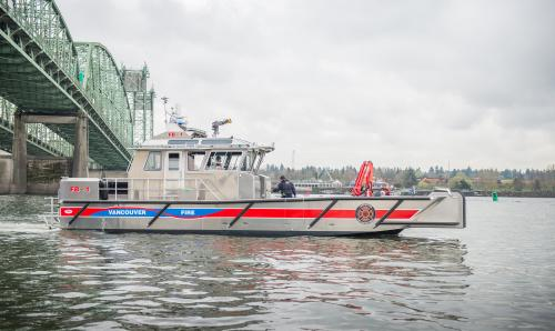 Advantages Of Natural Gas >> Vancouver's quick response boat | City of Vancouver Washington